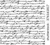 seamless abstract handwritten... | Shutterstock .eps vector #376161817
