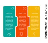 vector paper progress steps for ...   Shutterstock .eps vector #376164913