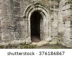 Scottish Abbey Door