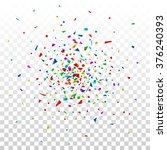 colorful celebration background ... | Shutterstock .eps vector #376240393
