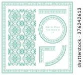 vintage frame pattern set 119... | Shutterstock .eps vector #376242613