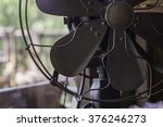 Close Up Vintage Fan
