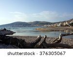View Of Sarande Beach In...