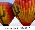hot air balloon | Shutterstock . vector #3763210