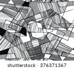 vector abstract geometric... | Shutterstock .eps vector #376371367