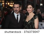 Small photo of LONDON -OCT 13, 2015: Colin Farrell and Rachel Weisz attend The Lobster premiere, 59th BFI London Film Festival on Oct 2015 in London