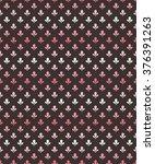 seamless vintage pattern | Shutterstock .eps vector #376391263