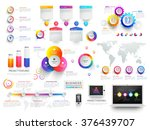 various business infographic... | Shutterstock .eps vector #376439707