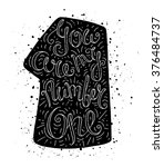 black and white doodle...   Shutterstock .eps vector #376484737