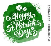 saint patricks day design with... | Shutterstock .eps vector #376498873