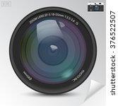 Realistic Camera Photo Lens...