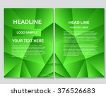 abstract vector modern flyers... | Shutterstock .eps vector #376526683