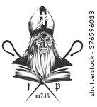 false prophet   Shutterstock .eps vector #376596013