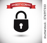 lock icon vector | Shutterstock .eps vector #376597333