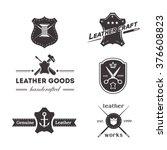 set of vintage tailor  sewing... | Shutterstock .eps vector #376608823