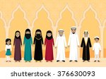 arabian family people design...