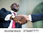 handshake | Shutterstock . vector #376687777