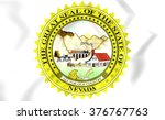 3d nevada state seal  usa.... | Shutterstock . vector #376767763