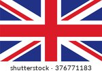 the flag of the united kingdom... | Shutterstock .eps vector #376771183