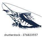 vector illustration of marline...   Shutterstock .eps vector #376823557