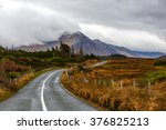 journey on wild atlantic way in ... | Shutterstock . vector #376825213