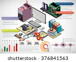 illustration of info graphic... | Shutterstock .eps vector #376841563