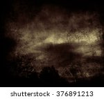 beautiful dark night sky  ... | Shutterstock . vector #376891213