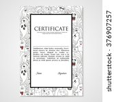 graphic design template...   Shutterstock .eps vector #376907257