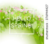 spring abstract background....   Shutterstock .eps vector #376944427