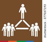 people icon illustration design | Shutterstock .eps vector #377037193