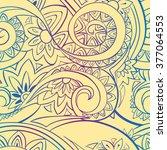 beautiful bright seamless...   Shutterstock .eps vector #377064553