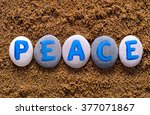 Word Peace Spell Out From...