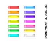 vector web buttons set | Shutterstock .eps vector #377082883
