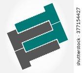 bolt vector symbol | Shutterstock .eps vector #377154427