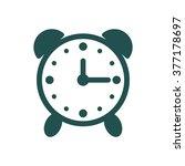 alarm clock icon vector flat...