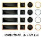 simple vector banners... | Shutterstock .eps vector #377225113
