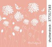 seamless grassy texture.endless ... | Shutterstock .eps vector #377317183