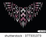 sequins embellishment design | Shutterstock .eps vector #377331373