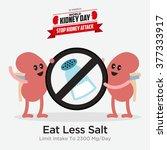 kidney health awareness template | Shutterstock .eps vector #377333917