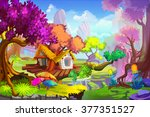 creative illustration and... | Shutterstock . vector #377351527