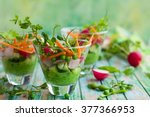 Spring Appetizer With Raw...