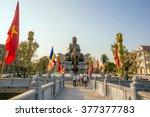 namdinh   vietnam february 13   ... | Shutterstock . vector #377377783