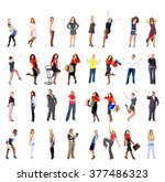 together we stand workforce... | Shutterstock . vector #377486323