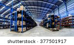 industrials warehouse for... | Shutterstock . vector #377501917