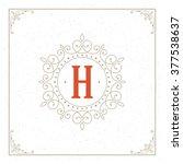 royal logo design template....   Shutterstock .eps vector #377538637