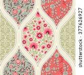seamless pattern. patchwork | Shutterstock .eps vector #377626927