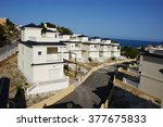 house in spain by the sea | Shutterstock . vector #377675833