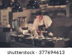 Blurred Restaurant Chef  Chef...