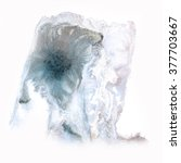 ink  abstract splash watercolor ... | Shutterstock . vector #377703667