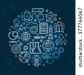 creative innovation background  ... | Shutterstock .eps vector #377766067